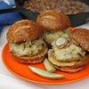 German Reuben Cuban Pork Burger