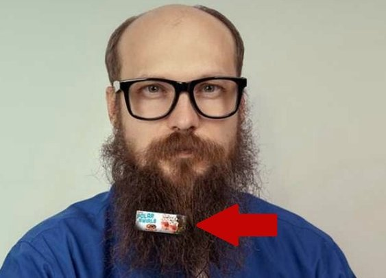 A&W Wants to Clip Mini Billboard Ads to Your Beard......Beardboards?