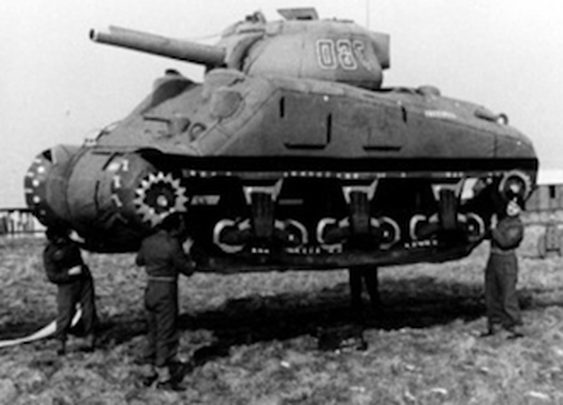 Ghost Army: The Inflatable Tanks That Fooled Hitler