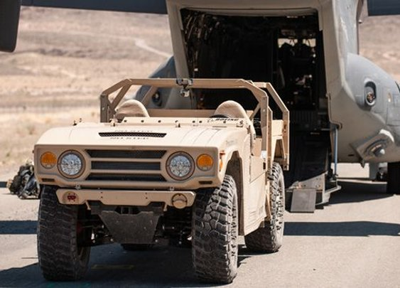 Boeing's Phantom Badger light tactical vehicle