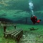 Diving at a Park, submerged in seasonal water