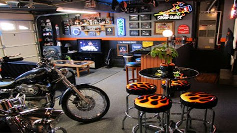 Cool garages 7 manly and cool garage ideas gentlemint for Cool garage designs