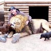 Man and Lion's bestfriends