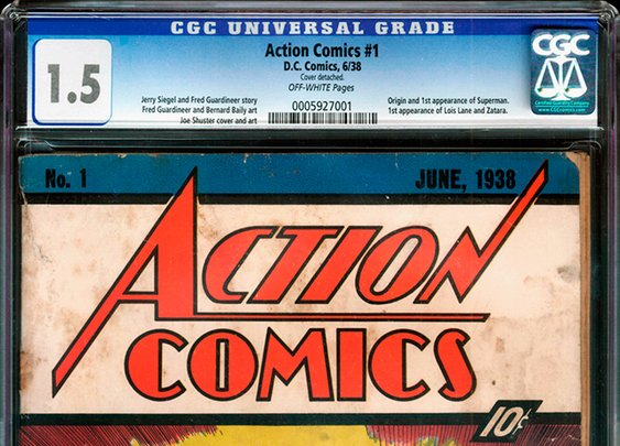 Man Finds 'Action Comics' #1 (1938) in Wall of House, Features First Appearance of Superman