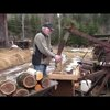 Off Grid DIY Wood Splitter - YouTube