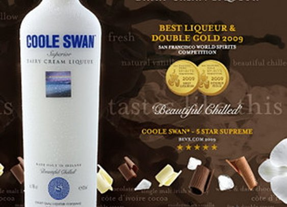 COOLE SWAN™ Cream Liqueur - So good it's scary!