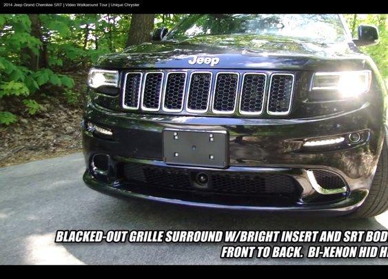 2014 Jeep Grand Cherokee SRT   Video Walkaround Tour   Unique Chrysler