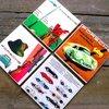 Vintage Porsche Ad Coasters-Rec Room Essentials