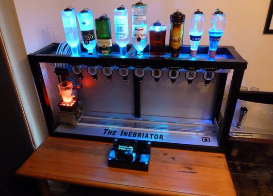 The Inebriator | Arduino powered cocktail machine