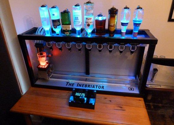 The Inebriator | Arduino powered cocktail machine