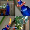 D. I. Y. Recycled Wine Bottle Torch