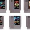 Classic Nintendo Gaming Cartridges