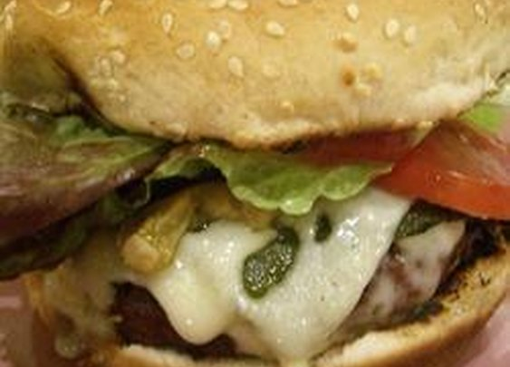 Mouth-Watering Ranch Burger