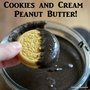 Cookies and Cream Peanut Butter