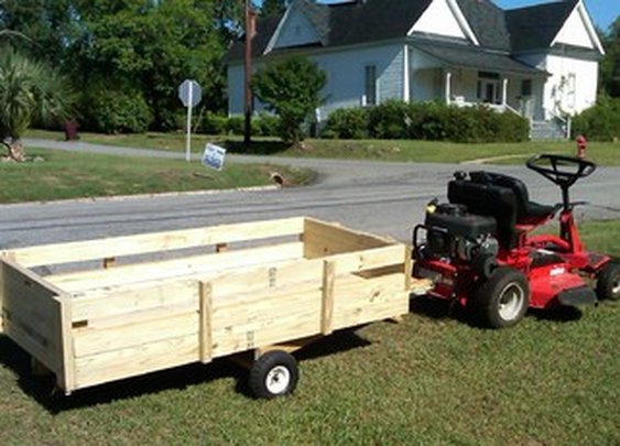 Lawnmower Utility Trailer