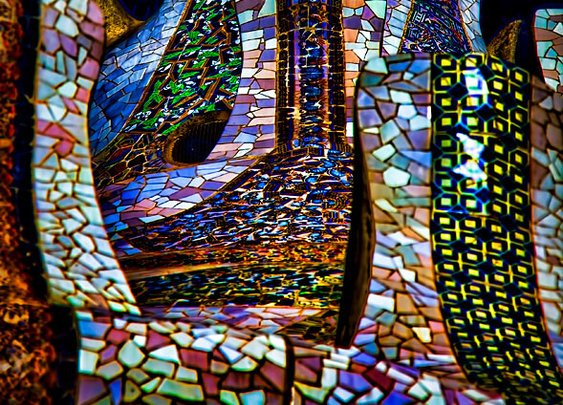 Trencadis – Park Guell