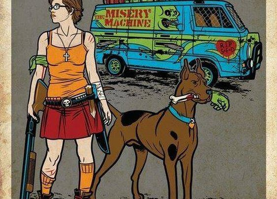 Velma goes zombie hunting