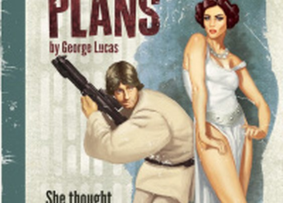 Star Wars Reimagined Pulp-Style [Pics]   Geeks are Sexy Technology News