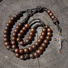 Woodland Paracord Military Rosary | CordBands
