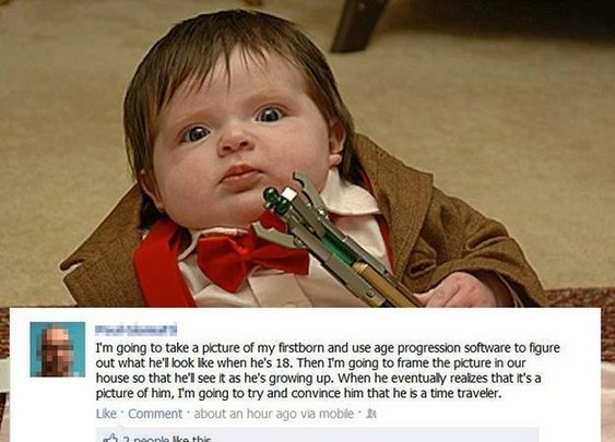 Doctor Who Parenting, ftw!