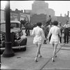 """1937: Women in shorts cause car to """"crash"""" into pole"""