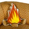 The Campfire Pillow by Gama-Go | Design Crack