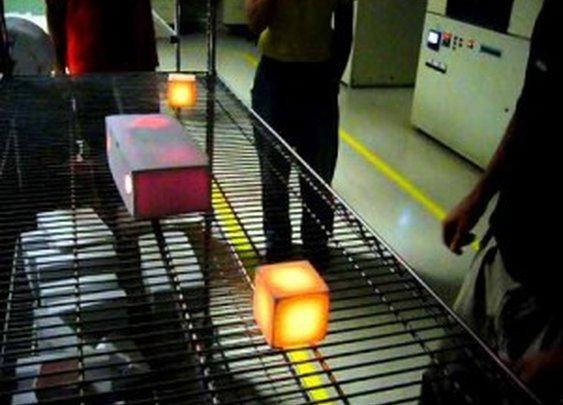 NASA Space Shuttle Thermal Tile Demonstration
