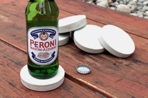 How to make easy and stylish diy concrete coasters man for Craft projects for men