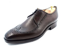 Bespoke Made to Measure Hand-painted Shoes for Men