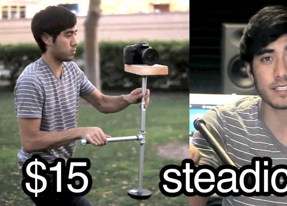 Awesome Directors Project : $15 DIY steadicam