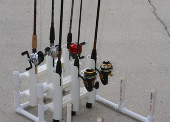 PVC Modular Fishing Rod Holder