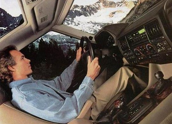 Twenty Range Rover Ads You'd Never See Today