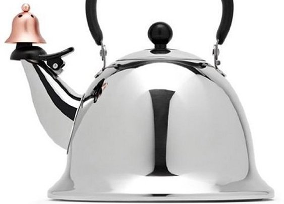 JCPenney's 'Hitler' Tea Kettle by Michael Graves