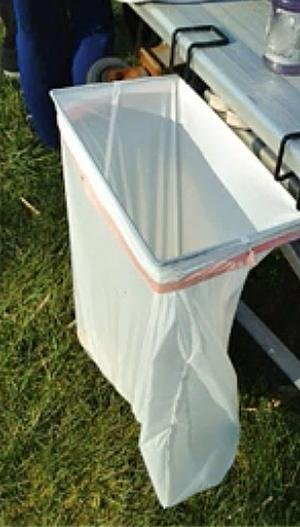 trashease 13 gallon portable trash bag holder - Trash Bag Holder