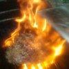 CJ's Explosive Bacon Burger