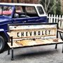 Recycled Tailgate Benches // YesterdayReclaimed