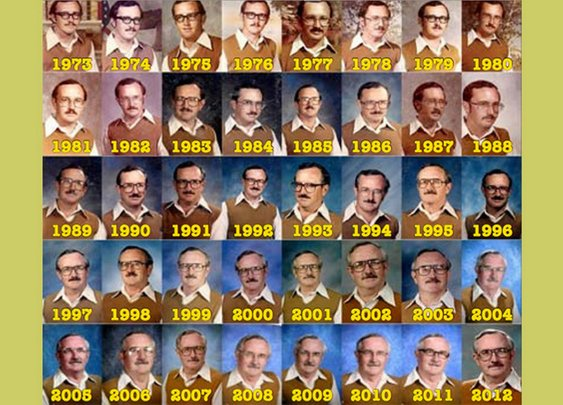 Dale Irby: Teacher wears same clothes for 40 years