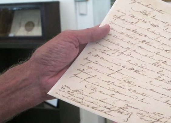 Rare letters from father of US Navy surface in South Carolina | Fox News