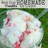 Best Ever Homemade Vanilla Ice Cream | Chasing Supermom