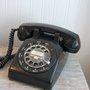 Vintage Rotary Phone Black Rotary Phone Black Phone