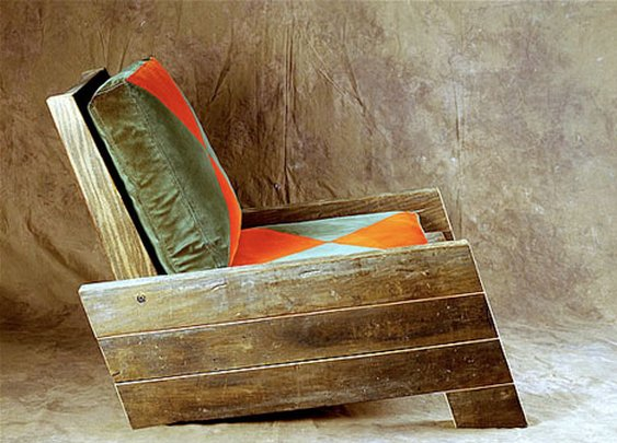 Reclaimed-Wood Furniture by Carlos Motta : TreeHugger