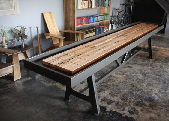 District MFG Shuffleboard Table