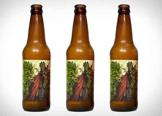Zombie Dust Beer   Uncrate