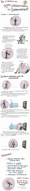 A Guide to Understanding Introverts [Comic] | Geeks are Sexy Technology News
