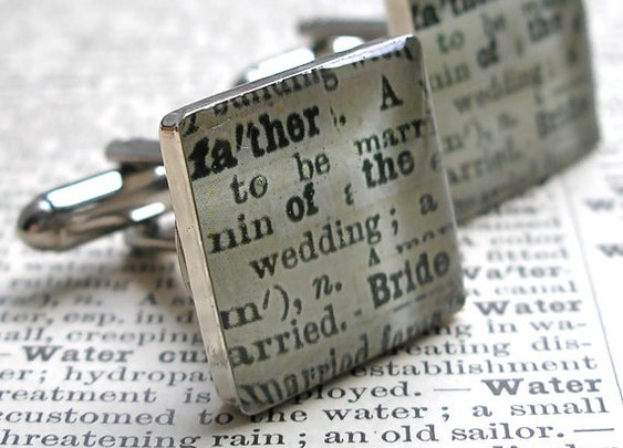 Father of the Bride Cuff Links