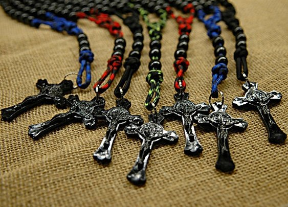 New Paracord Rosaries from CordBands