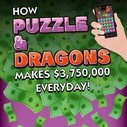 How Puzzle & Dragons Makes Millions Everyday [INFOGRAPHIC] - Download Free Games
