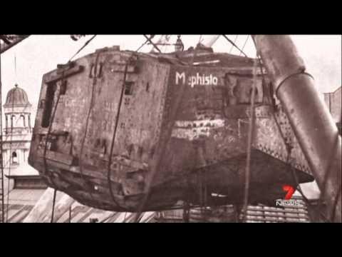 German tank Mephisto restoration (21 July 2013) - YouTube