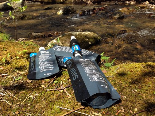 Filter Water Easily with the Lightweight and Simple Sawyer Squeeze