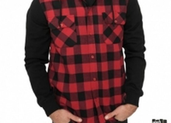 Hooded-Checked-Flannel